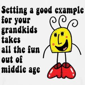 Funny Grand Kids - Men's T-Shirt