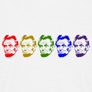 Abraham Lincoln - Herre-T-shirt