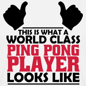 world class ping pong player