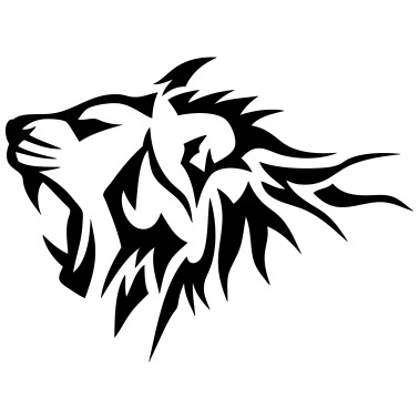 Lion Tribal Tatouage Dessin 14025 De C2b Spreadshirt