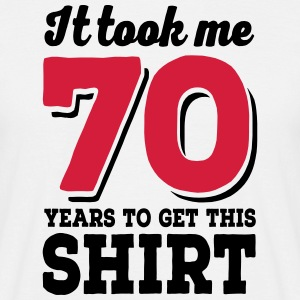 70th Birthday - Men's T-Shirt