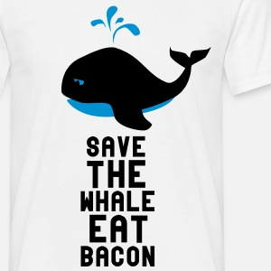 Save The Whale Eat Bacon
