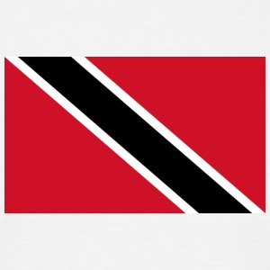 National Flag Of Trinidad And Tobago - Herre-T-shirt
