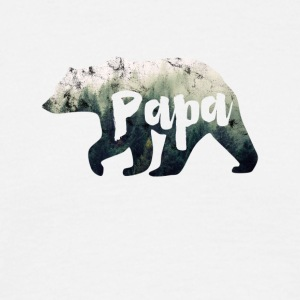 Papa Bear - T-shirt herr