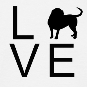 Dog Love 1 - Männer T-Shirt