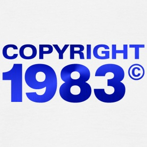 Copyright 1983 - Men's T-Shirt