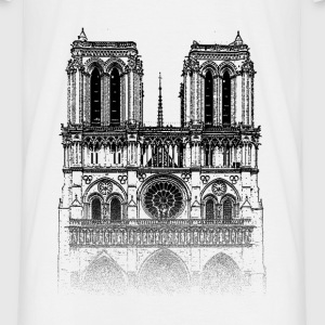 Around The World: Notre Dame - Paris - Männer T-Shirt