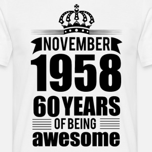 November 1958 60 years of being awesome