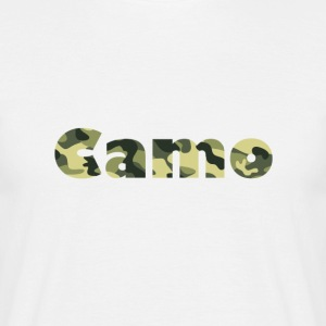 Camo Designs - T-skjorte for menn