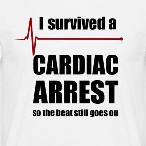Cardiac Arrest Survivor - Männer T-Shirt