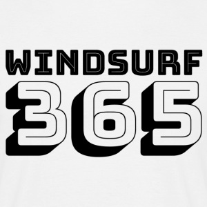 Windsurfing 365 - Herre-T-shirt