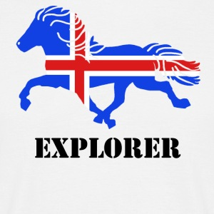 Explorer - Herre-T-shirt