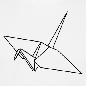 ++ Origami grue ++ - T-shirt Homme