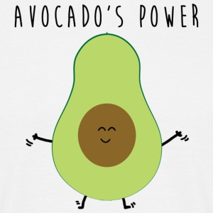 Avocado Power - T-shirt herr