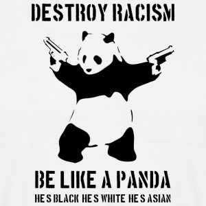 DESTROY RACISM - IT - Men's T-Shirt
