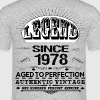 LEGEND SINCE 1978 - Men's T-Shirt