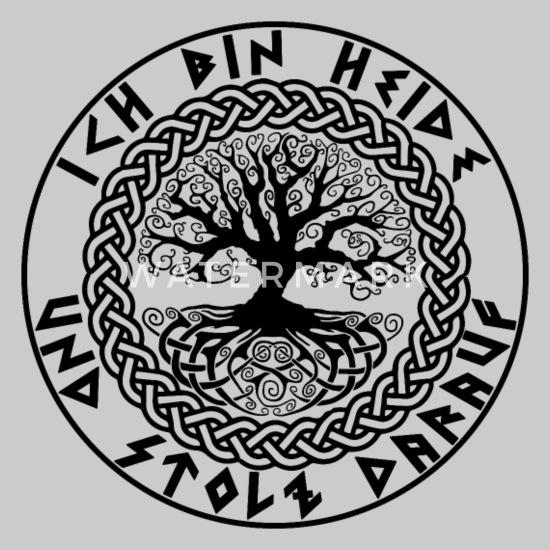 Ich bin heide und stolz darauf / Wikinger / Pagan Männer T