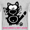 Make America Gay Again Catpaw Design - Camiseta hombre