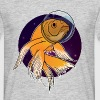 Fish in Space - Mannen T-shirt