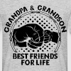 Grandpa & Grandson Best Friends For Life - Men's T-Shirt