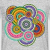 Colorful  Tribal Boho Ethnic Circular Pattern - Men's T-Shirt