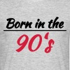 Born in the 90's - T-shirt Homme