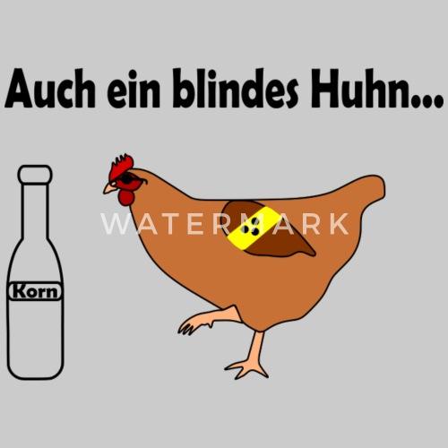 a79ece5db733c1 Blindes Huhn findet Korn Männer T-Shirt
