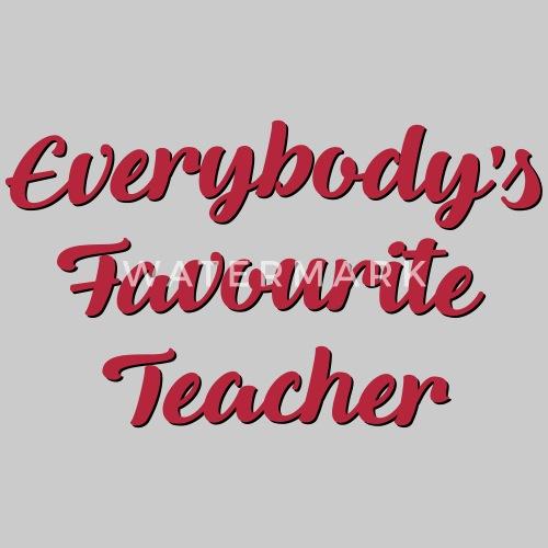 favourite teacher