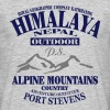 Himalaya  - Alpine Mountains - T-shirt Homme
