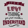 its a levi name forename thing - Men's T-Shirt