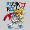 Asterix & Obelix - Troubadix Rock'n' Roll Men's T- - Men's T-Shirt