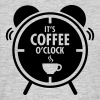 It's Coffee O'Clock - Mannen T-shirt