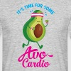 It\'s Time For Some Avo Cardio - Männer T-Shirt