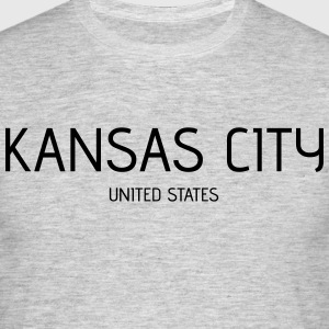 Kansas City - T-skjorte for menn