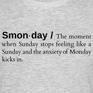 Smonday - Herre-T-shirt