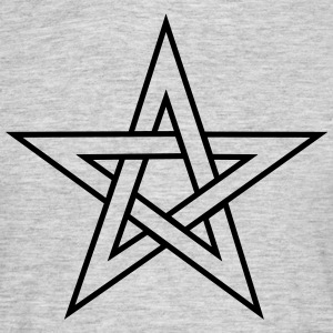 Pentagram, pentacle, magic, symbol, witchcraft, - Men's T-Shirt