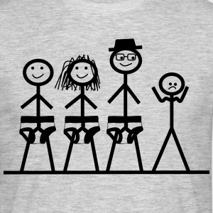 Schluebber Family Sad - Men's T-Shirt