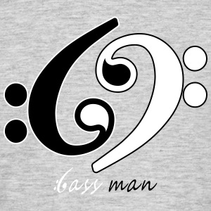 Bass Man - Men's T-Shirt