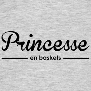 Princesse en baskets - T-shirt Homme