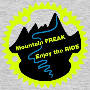 Mountain Freak - Mannen T-shirt