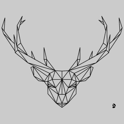 AD Geometric Deer