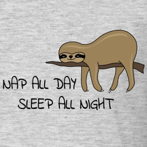Sloth Napping - T-shirt Homme