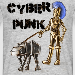 cyberpunk - Men's T-Shirt
