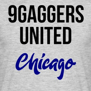 9gagger Chicago - Mannen T-shirt