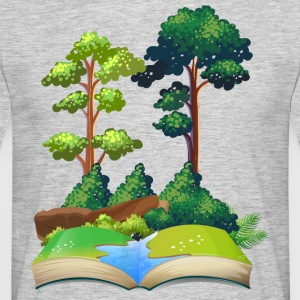 nature book - Men's T-Shirt