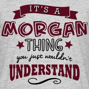 its a morgan name forename thing