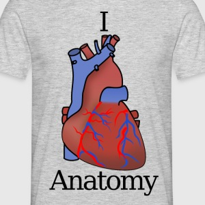 I Heart Anatomy B - Men's T-Shirt