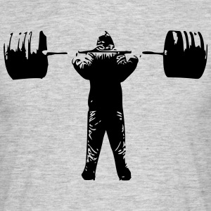 Squat Barbell - Männer T-Shirt