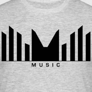 Music Logo Sound barer - T-skjorte for menn