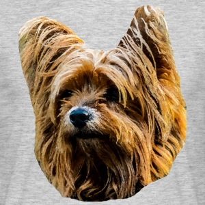 Yorkshire Terrier - Herre-T-shirt